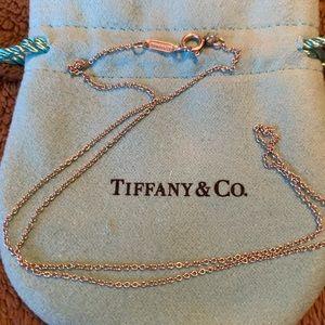 Tiffany & Co Silver Chain - small link